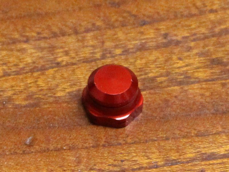 画像1: ABU 4000/5000/6000番★レッド☆★ハンドルナット★☆赤★左